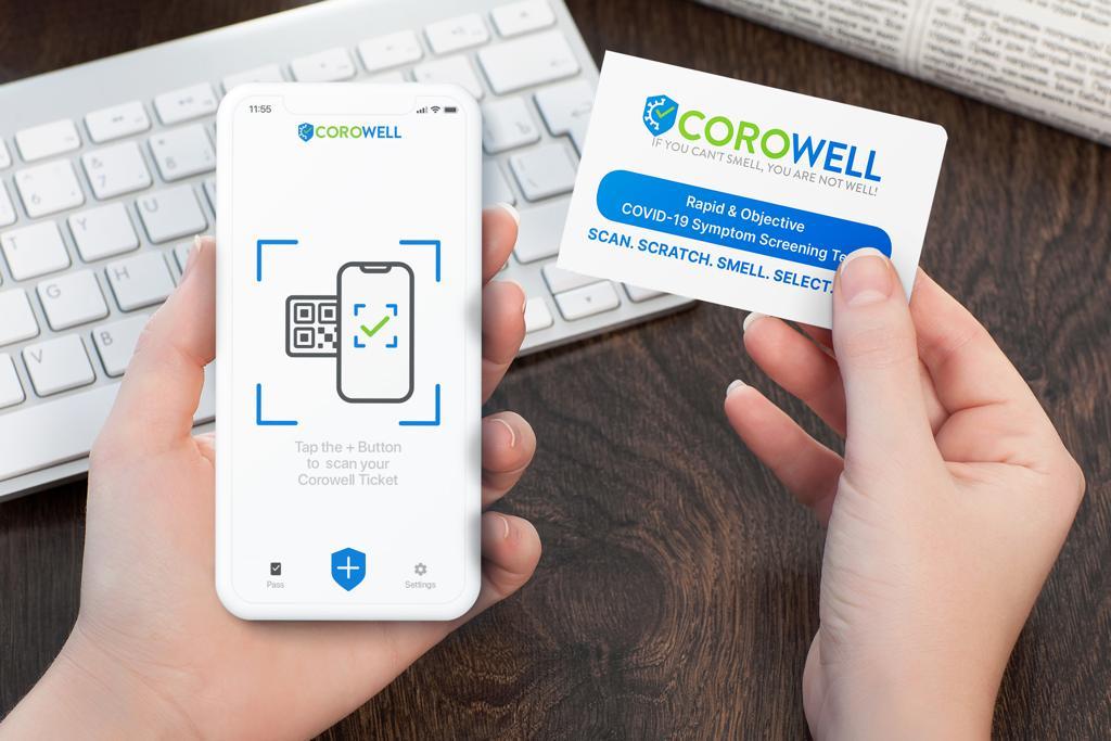 Corowell Covid-19 Symptomtest
